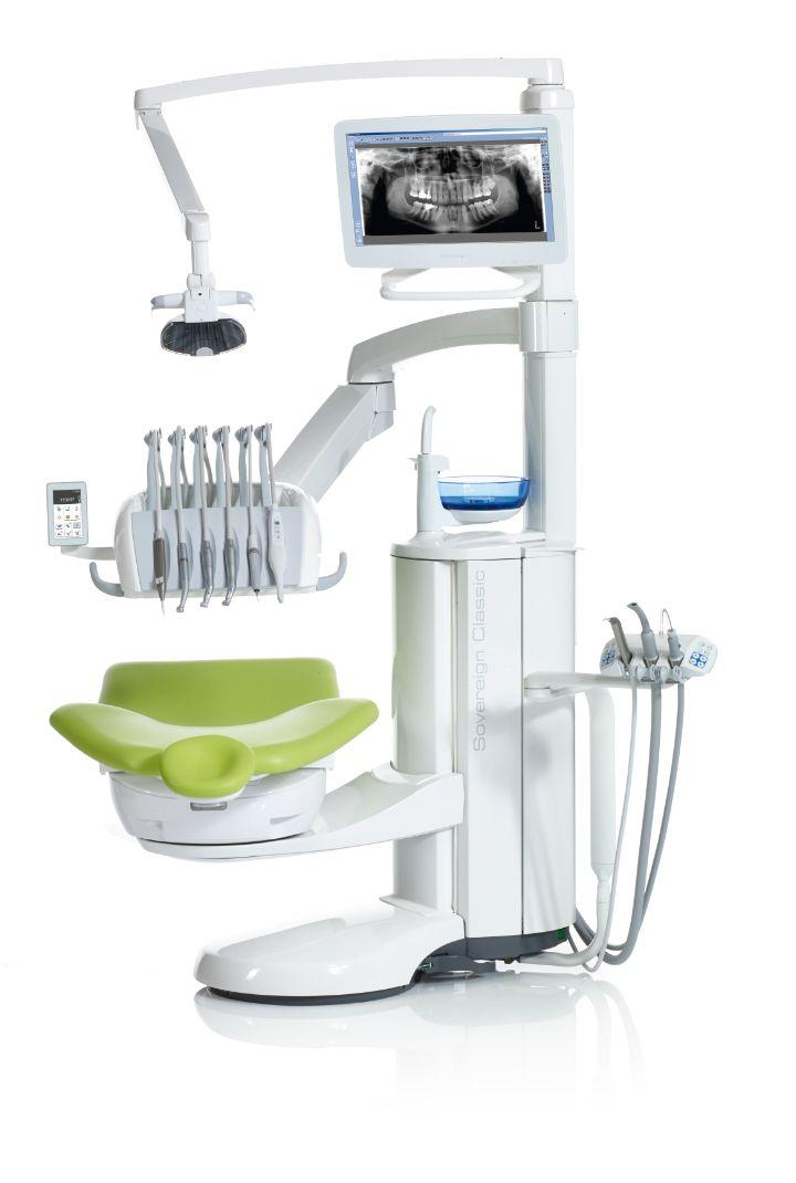 Tandlægestol, klinikstol, patientstol eller behandlingsstol